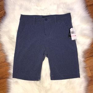 Nautica boys Sz 10 ink blue shorts swim trunks NWT